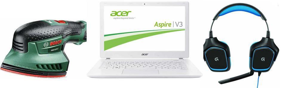 Amazon14 Acer Aspire V3 371 36M2   13,3 Zoll Notebook und weitere 7 Amazon Blitzangebote