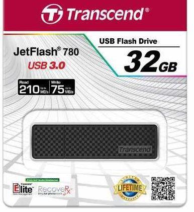 Amazon4 Transcend Extreme Speed JetFlash 780   schneller 32GB USB 3.0 Stick für 23,49€
