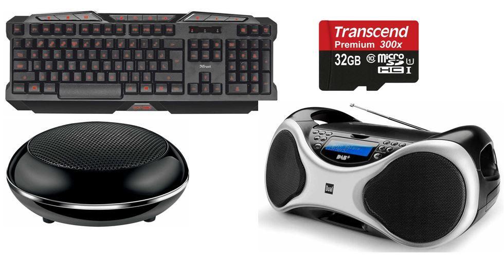 Amazon8 Transcend Premium Class 10 microSDHC 32GB Speicherkarte und weitere 9 Amazon Blitzangebote