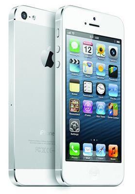 Apple iPhone 5 64GB Apple iPhone 5 mit 64GB ohne Simlock in Weiß/Silber für 489€ (statt 520€)