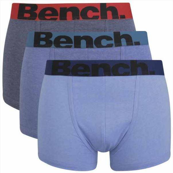 Bench Boxershorts im 3er Pack für 11,59€ inkl. Versand.