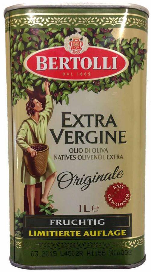 Bertolli 1L Bertolli Extra Vergine Natives Olivenöl Extra als Limited Edition für nur 3,99€   Update!