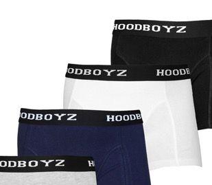 4er Pack Herren Boxershorts (mehrfarbig) für 12,90€ (statt 19€)
