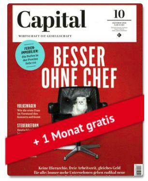 Jahresabo der Capital für effektiv 16€ dank 80€ BestChoice Gutschein