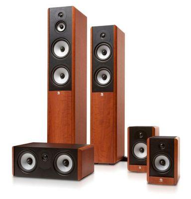 Boston A Serie Paket 5.0 Lautsprechersystem in Kirsche für 329€ (statt 364€)
