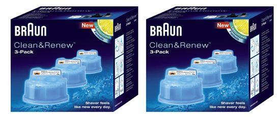 Braun CCR Kartuschen Braun CCR 2 Reinigungskartuschen (6 Stück) für 19,90€