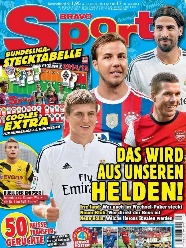 Bravo Sport 8 Ausgaben Bravo Sport für effektiv 0,10€