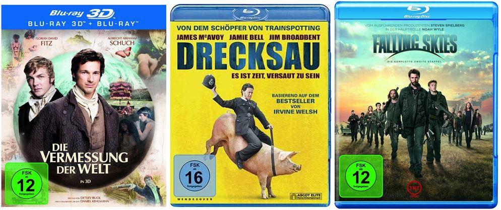 DVD Blu ray Die Vermessung der Welt [Blu ray 3D] ab 15,97€   bei den Amazon DVD und Blu ray Angeboten der Woche
