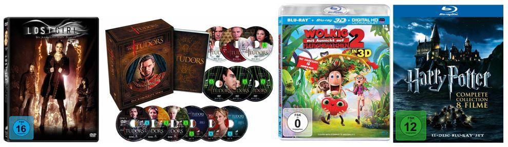 DVD Blu ray11 Harry Potter   Complete Collection ab 19,97€ und weitere 11 Amazon Blitzangebote