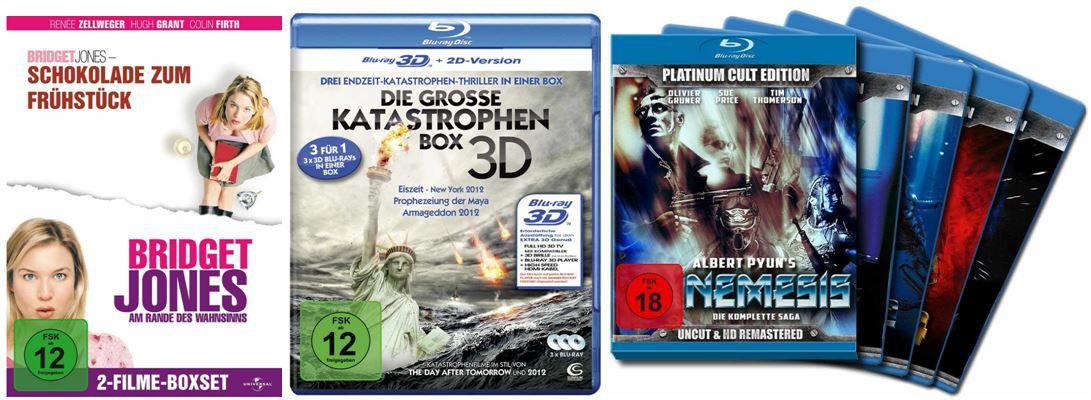 Blu rays zum Sonderpreis und mehr Amazon DVD und Blu ray Angebote der Woche