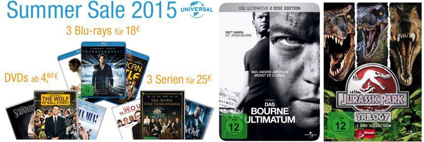 2 Serien für 20€ im Amazon DVD und Blu ray Summer Sale   Update