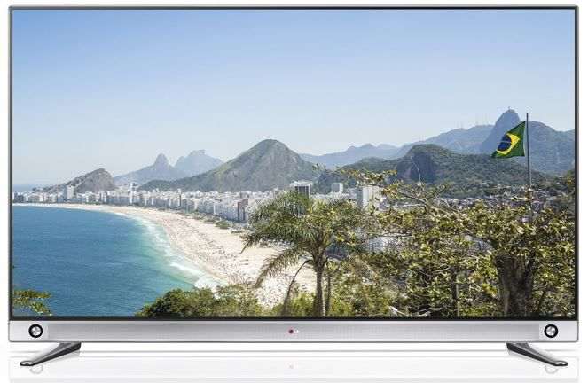 Fett LG 55LA9659   55 Zoll Cinema 3D Smart TV mit triple Tuner, vier 3D Brillen für 1.199€