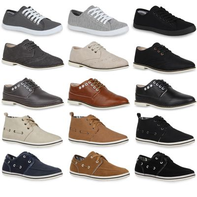 Herren Sneakers von Casual   5 Modelle, insgesamt 17 Farben für je 16,90€