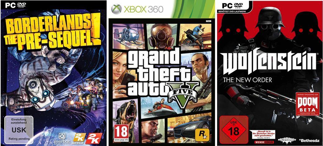 Gamescom Borderlands: The Pre Sequel   für PC und Konsolen ab 39,95€ + weitere Amazon Gamescom Angebote!