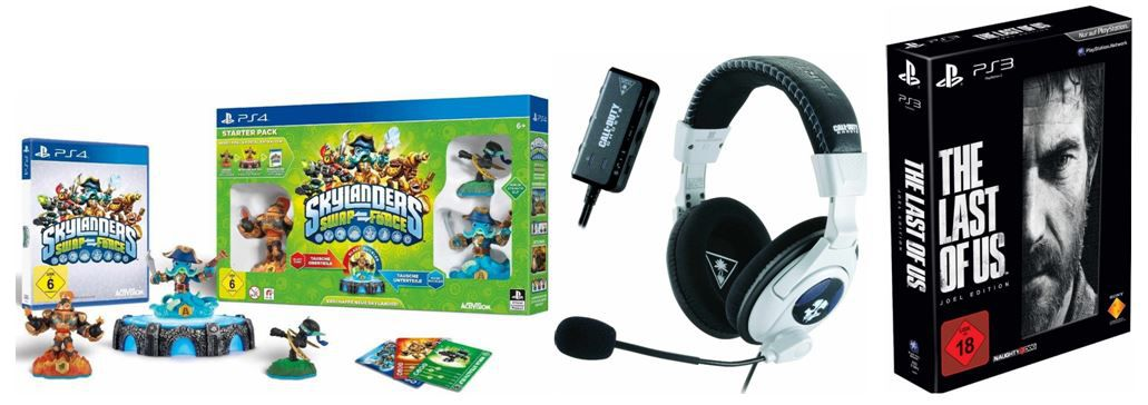 Gamescom1 Skylanders Swap Force Starter Pack ab 27,97€ + weitere Amazon Gamescom Angebote!