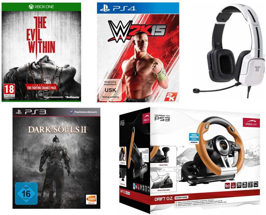 Gamescom3 Speedlink Drift O.Z. Lenkrad für PlayStation 3 für 39,97€ + reichlich mehr beim Tag 6 der Amazon Gamescom Angebote