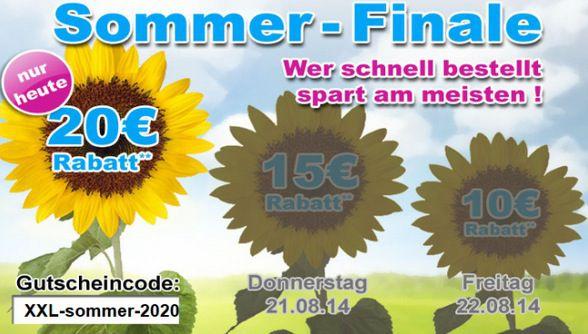 10€ Gutschein mit 60€ MBW auf das gesamte Sortiment von GartenXXL