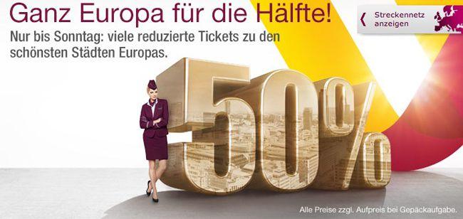 Germanwings Flüge mit Germanwings im europäischen Raum ab 33€   nur dieses Wochenende!