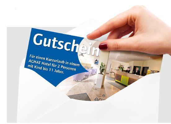 Gutschein ACHAT    Gutschein für 29 Hotels in 3 Ländern   2 Personen inkl. 2 Übernachtungen für 129€