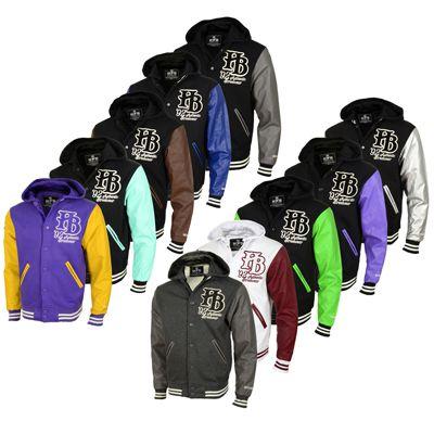 Hoodboyz College Jacken in den Größen S bis 3XL für jeweils 22,90€