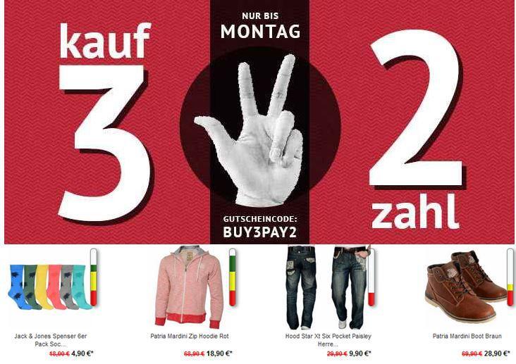 Kauf 3 zahle 2: viele verschiedene Marken zur Auswahl bei den Hoodboyz   Update