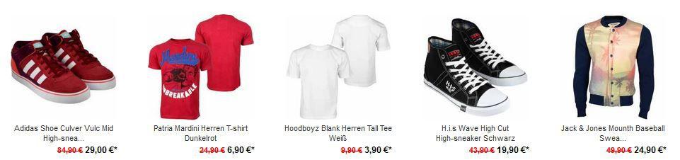 Adidas Shoe Culver ab 29€ und 20€ Rabatt auf alles bei den Hoodboyz ab 40€!