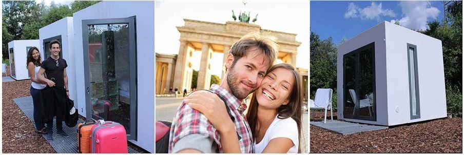 Hotelgutschein für 2 Personen, 2 Übernachtungen im Qbe Hotelwürfel in Berlin, für nur 22€