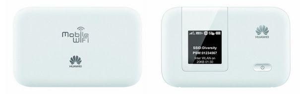 Huawei E53721 Huawei E5372   mobiler LTE Hotspot (WLAN Router mit bis zu 150 Mbit/s) für 69,95€ (statt 100€)