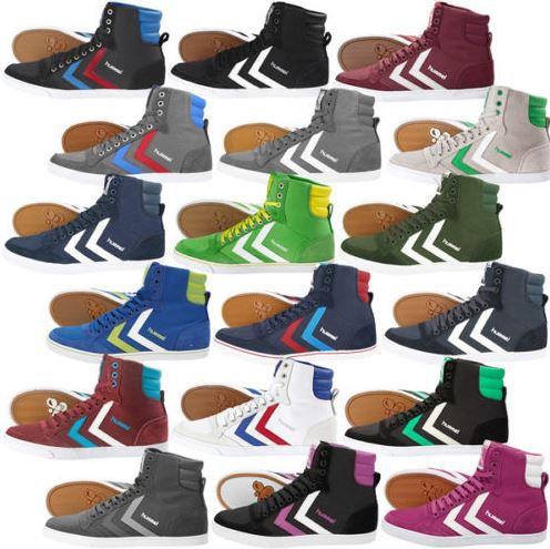 HUMMEL Unisex Leder Sportschuhe & Sneaker 14 Modelle für je Paar 34,90€