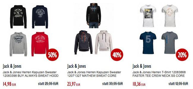 Jack and Jones TIPP! 20% zusätzlichen Rabatt auf ALLES bei Jeans Direct   auch reduzierte Ware!