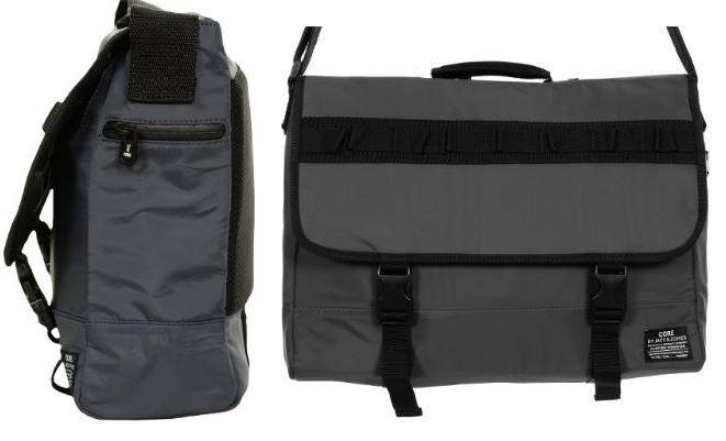 JackJones Jack & Jones Danny Messenger Tasche in dunkelgaru für 19,99€ inkl. Versand