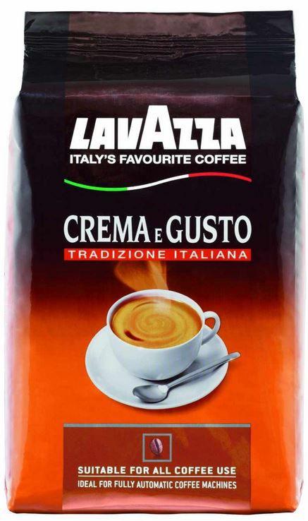 Lavazza Lavazza Crema E Gusto Tradizione Italiana Bohne   1Kg Pack für 9€   Update