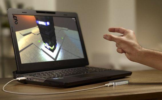 Leap Motion Controller   3D Gesten Steuerungsgerät für PC & Mac für ca. 56€