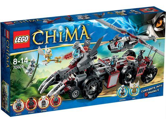 Lego Legends of Chima 70009 Worriz Großer Wolfstruck für 35€ (statt 52€)