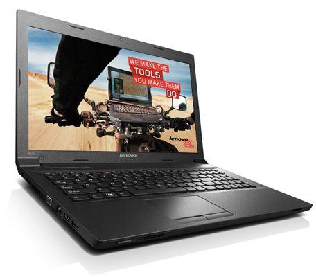Lenovo B590 MBT3VGE   15,6 Zoll Notebook (Pentium 2020M 4GB RAM, 500GB HDD, Win7) für 377,89€ (statt 457€)