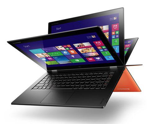Lenovo Ideapad Yoga2   13 Zoll Ultrabook (IPS QHD+, Core i7, 8GB RAM, 256GB SSD, Win8.1) für 1.099€ (statt 1.400€)