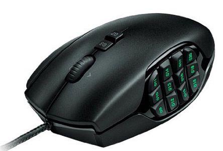 Logitech G600 Optische MMO Gaming Maus für 40€ (statt 55€)