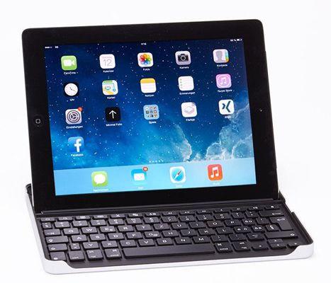 Logitech ZAGG Bluetooth Tastatur für iPad (2, 3, 4 Gen.) für 9,95€