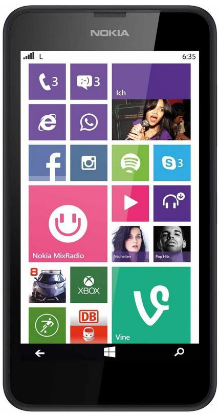 Lumia Nokia Lumia 635 LTE   Windows Phone 8.1 + 32GB microSDHC Ultra für 149€