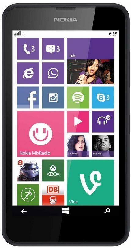 Nokia Lumia 635 LTE   Windows Phone 8.1 + 32GB microSDHC Ultra für 149€