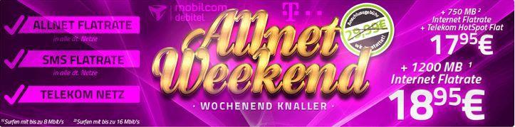 Telekom Complete Comfort M AllNet Flat inkl. HotSpot für 17,95€ monatl.
