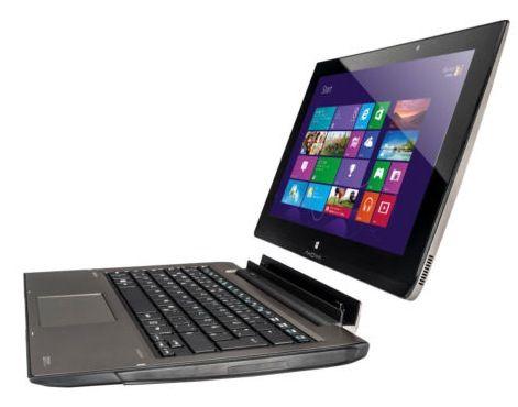 Medion S6615T Convertible mit Core i3 500GB + SSD für 389€