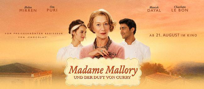 Fast kostenlos ins Kino: 2 Tickets für Madame Mallory und der Duft von Curry für 0,69€