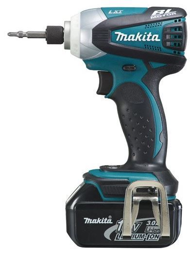 Makita Makita BTD145RFE   Akku Schlagschrauber inkl 2x Akkus 18 V Li Ion 3,0 Ah statt 398€ für 290,68€   Update!