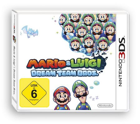 Mario Luigi Dream Team Bros. Mario & Luigi: Dream Team Bros. (3DS) für 16,76€