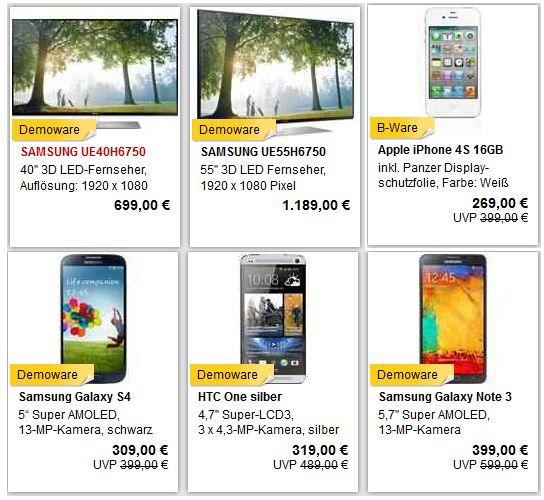 Apple iPhone 4S 16GB für 242,10€ und mehr super MeinPaket B Ware Angebote dank 10% Gutschein!