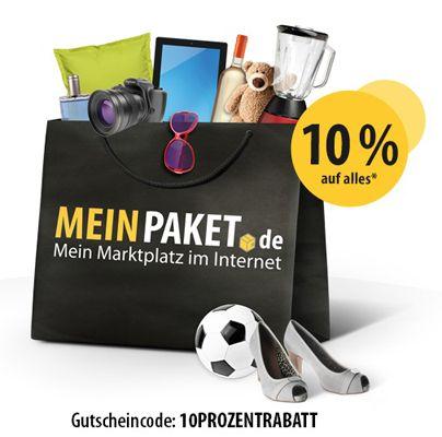 Nur heute: 10% Gutschein bei MeinPaket