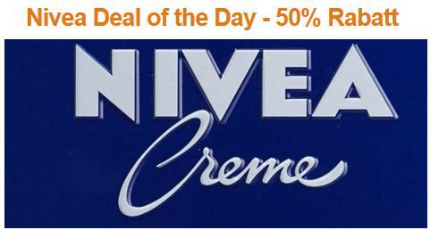 Nivea Nivea Deal of the Day   50% Rabatt auf ausgewählte Nivea Produkte @Amazon   Update