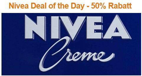 Nivea Deal of the Day   50% Rabatt auf ausgewählte Nivea Produkte @Amazon   Update