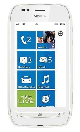 Nokia Lumia 710 Smartphone in Weiß (3,7 Zoll, Windows 7.5, ohne Simlock, 5MP, 8GB) für 49,90€ (statt 100€)   Update!